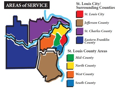 Areas of Service - St. Louis Real Estate Appraiser